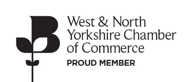 West & North Yorkshire Chamber of Commerce proud member
